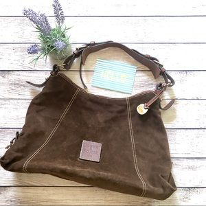 Dooney & Bourke Suede Leather Handbag